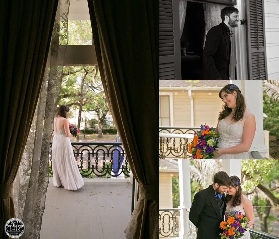 Outdoor Wedding Ceremony Eau Claire: Josh & Amanda / Degas House Wedding