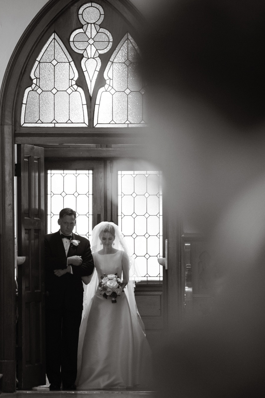Sacred HEART CHAPEL WEDDING.  New Orleans Louisiana. Eau Claire Photographics.